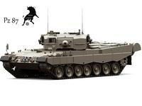 Pz 87 3D Model