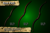 Free Medieval Bow Pack 3D Model