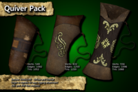 Free Medieval Quiver Pack 3D Model