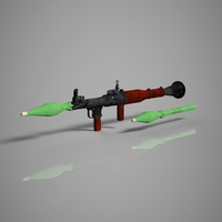 Rocket Launchers 3D Model