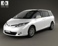 Toyota Previa 2013 3D Model