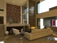 Living room 06 3D Model