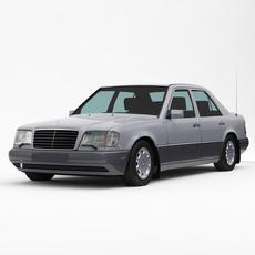 Mercedes-Benz W124 E-Class 1993-95 3D Model