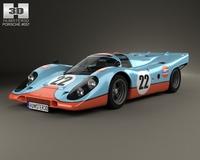 Porsche 917 K 1969Porsche 917 K 1969 3D Model