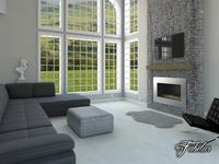 Living room 16 3D Model
