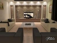 Living room 17 3D Model