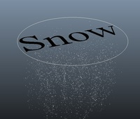 Free Snow Tool for Maya 1.0.0