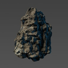 Cliff rock module 3D Model
