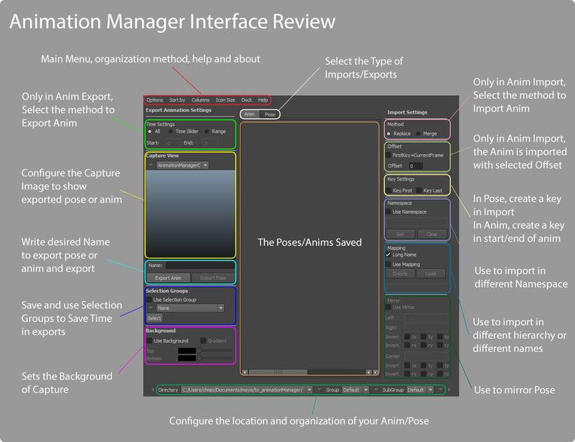 Animation Manager 0 9 30 for Maya