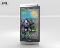 HTC One 3D Model
