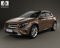 Mercedes-Benz GLA-class 2014 3D Model