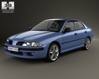 Mitsubishi Carisma liftback 2000 3D Model