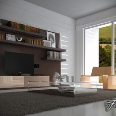 Living room 18 3D Model