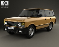 Land Rover Range Rover 1986 3D Model