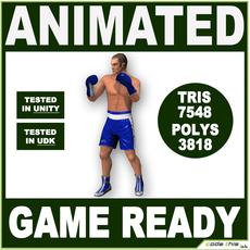 White Boxer 7548 tris 3D Model