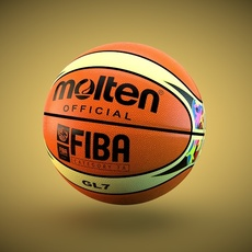 Molten GL7 Official Ball 3D Model
