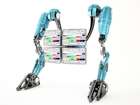Robot 4TV 3D Model