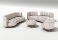Sofa DE SEDE DS-1064 3D Model
