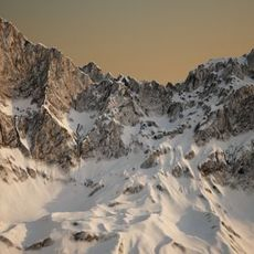 Precision mountain 3D Model