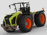 Claas Xerion 2014 3D Model