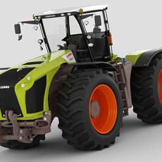 Claas Xerion 2014 3D Model