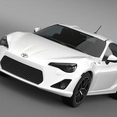 Toyota 86 Prototype 2011 3D Model