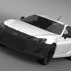 Toyota 86 RC 2012 3D Model