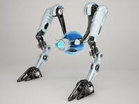 Robot NRTV100 3D Model