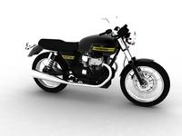 Moto Guzzi V7 Classic 2010 3D Model