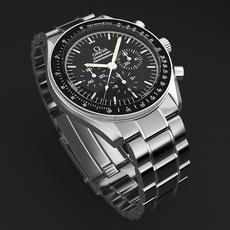 Omega Speedmaster Mens Watch 3D Model