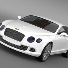 Bentley Continental GT Speed 2012 3D Model