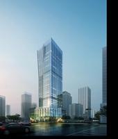 Skyscraper in city 110 3D Model