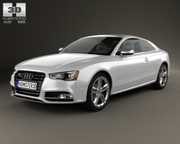 Audi S5 coupe 2012 3D Model