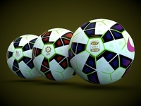Nike Ordem 2 Official match ball 3D Model