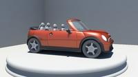 Cooper Convertible 3D Model