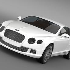 Bentley Continental GT 2011 3D Model