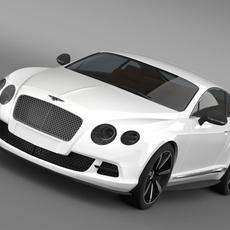 Bentley Continental GT Mulliner Styling 2011 3D Model