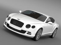Bentley Continental GT Speed 2014 3D Model