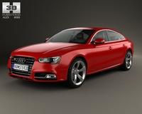 Audi S5 sportback 2012 3D Model