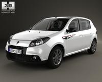 Renault Sandero GT Line 2012 3D Model