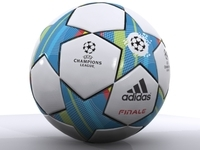 Adidas Finale Soccer Ball 3D Model