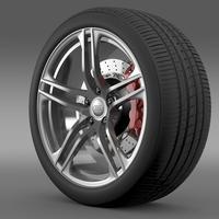 Audi R8 GT wheel 3D Model