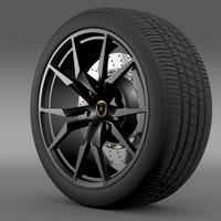 Lamborghini Aventador50 AE wheel 3D Model