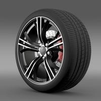 Audi R8 Exclusive wheel 3D Model