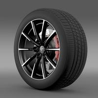 Toyota 86 G wheel 3D Model