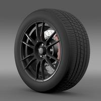 Toyota GT 86 Cup Edition wheel 3D Model