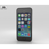 Apple iPhone 5S Space Gray 3D Model