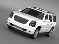 GMC Yukon Denali flexfuel 2011-2014 3D Model