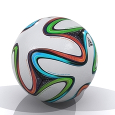 Adidas Brazuca Official Match Ball World Cup 3D Model