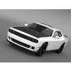 Dodge Challenger SRT Helllcat Supercharged LC 2015 3D Model